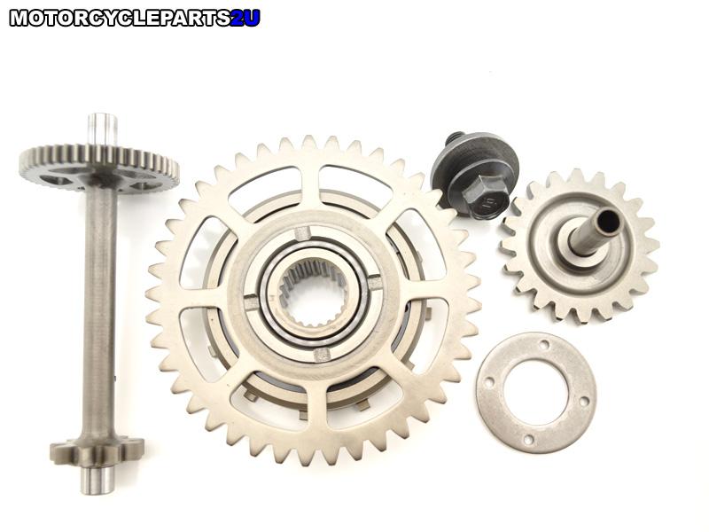 2008 Honda CBR600RR starter gears