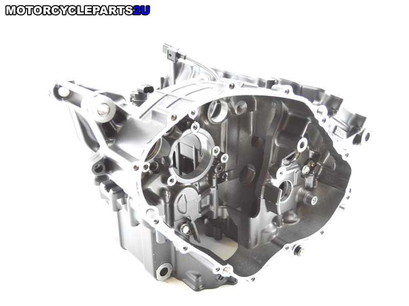 2008 Honda CBR600RR crankcase with pistons and rods
