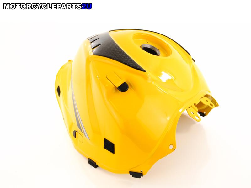 2007 Suzuki GSX-R1000 Yellow Gas Tank