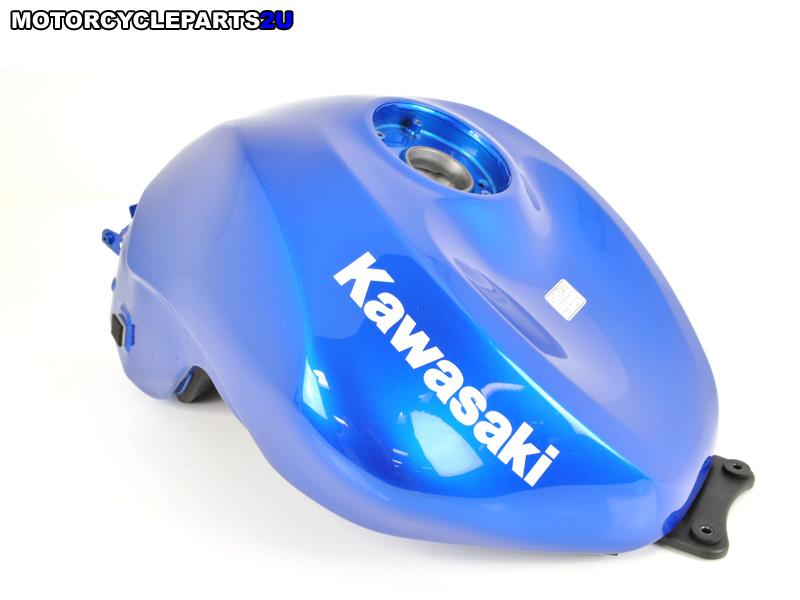 2008 Kawasaki ZX10R Candy Plasma Blue Gas Tank