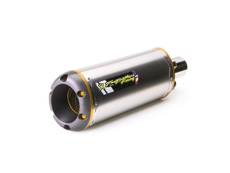 Two Brothers V.A.L.E. Slip-On Exhaust System - M-2 Titanium