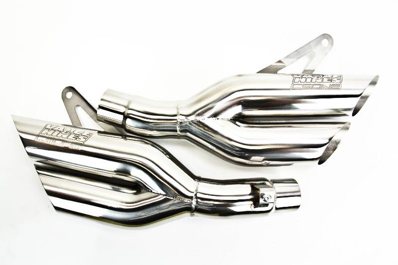 Vance & Hines CS One Urban Brawler Dual Slip-Ons