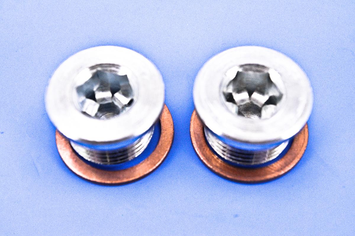 Vance & Hines 18mm x 1.5 O2 Sensor Port Plug Kit