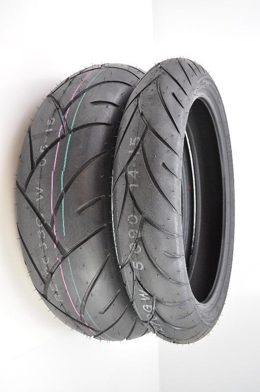 Shinko 87-4011 005 Advance Radial Tire 120//60ZR17