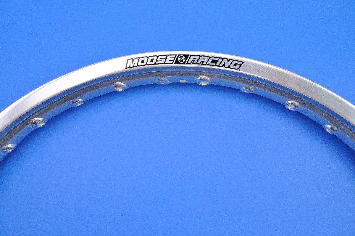Moose Silver Aluminum 36 Hole Front Rim 1.60 x 21  GS-21X160S