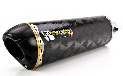 Two Brothers V.A.L.E. Flange-On Exhaust System - M-2 Carbon Fiber