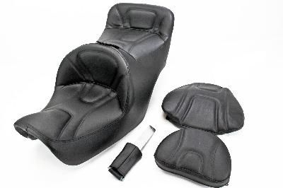 Saddlemen Road Sofa Seat with Driver Backrest
