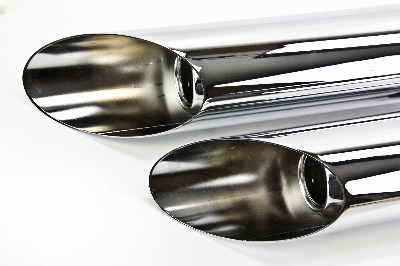Cobra Slashcut Slip On Mufflers 1180SC