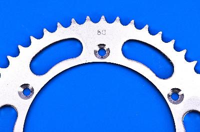 Parts Unlimited 520 Steel Rear Sprocket 50T 64511-41131