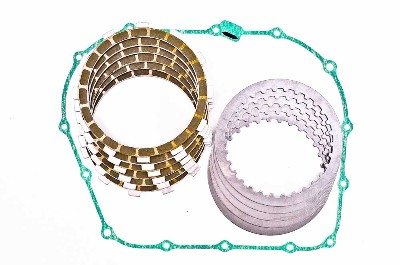 Barnett Kevlar Friction and Steel Clutch Plates Kit with OEM Gasket