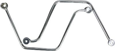 Cobra Chrome Saddlebag Support