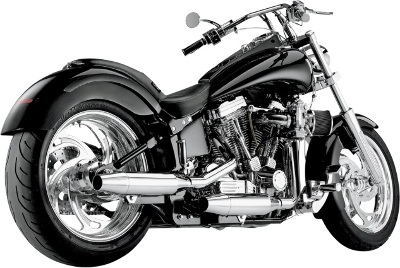 SuperTrapp 2-Into-2 Staggered Internal Disc Chrome Exhaust