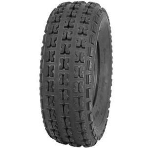 Set of 2 QUADBOSS QBT671 Front Tires 25x8-12 6-ply