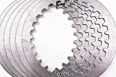5 80-81 Yamaha SR250 Barnett Steel Clutch Plate Kit  401-90-048015