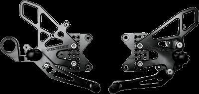Vortex RS273K Black Rear Set Vortex Racing