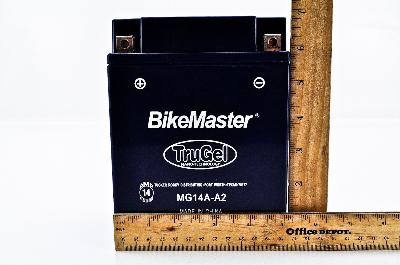 MG14A-A2 Polaris 1996-2013 Sportsman 500 HO Bikemaster TruGel Battery