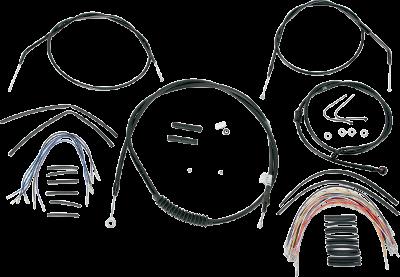 Burly Brand Extended CableBrake Line Kit for Burly Ape Handlebars B30-1008