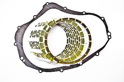 Barnett Kevlar Clutch Plates with OEM Gasket