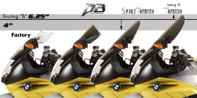 Smoke Sport Touring Zero Gravity Sport Touring Windscreen 23-805-42