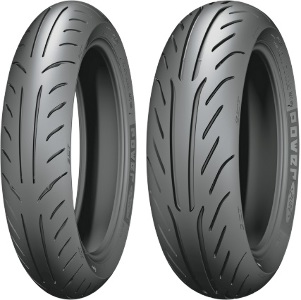 Michelin Power Pure SC Scooter Front & Rear Tire Set