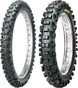 Maxxis M7311/M7312 Maxxcross SI Front & Rear Tire Set with MSR Ultra Heavy-Duty Tubes