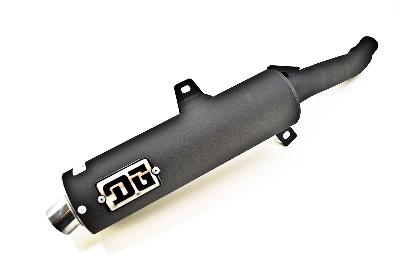DG RCM2 Slip-On Muffler with Spark Arrestor