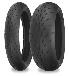 Shinko 003 Stealth Sport-Racing Radial Front & Rear Tire Set