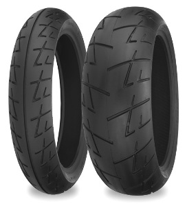 Shinko 009 Raven Sport-Touring Radial Front & Rear Tire Set