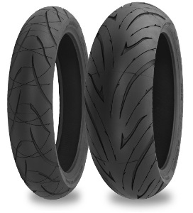 Shinko 016 Verge 2X Dual Compound Radial Front & Rear Tire Set