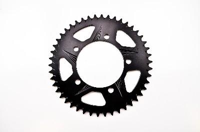 Vortex 525 F5 PTFE Aluminum Rear Sprocket, Black 46T
