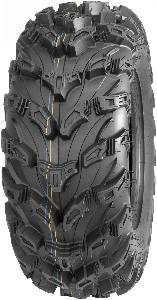 QuadBoss QBT672 Radial Mud Tires 27x9R-14 (8 Ply) (2 Tires)