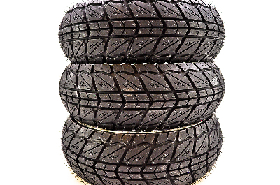 Shinko 87-4265 SR723 Series Tire 120//70-10 White Wall