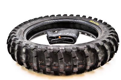 Maxxis M7308 Maxxcross SM Rear Tire w/ Heavy-Duty Inner Tube