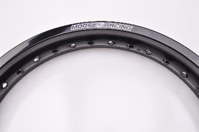 Aluminum Rear Rim 18x2.15 Black Moose Racing 0210-0220