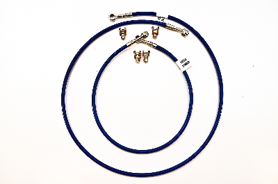 "Galfer Front and Rear (+6"") Brake Lines"