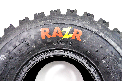 Pair 2 Maxxis Razr 20x11-8 ATV Tire Set 20x11x8 4 Ply 20-11-8