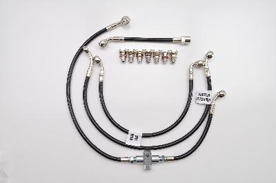 "Galfer 5-Line Complete Brake Line Kit Plus 2"""