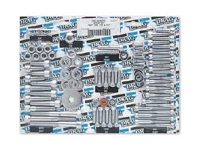 Drag Specialties Smooth Socket-Head Motor Bolt, Chrome