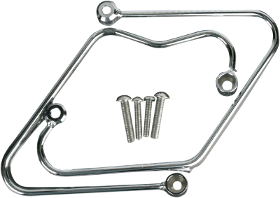 Cobra Chrome Saddlebag Support