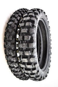 Dunlop D606 Front & Rear Tire Set 90/90-21 & 130/90-18