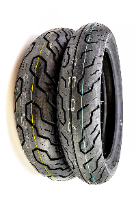 Dunlop K555 Front & Rear Tire Set 120/80-17 & 150/80-15