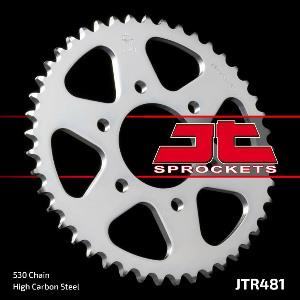 JT Sprocket,s 530 Steel Rear Sprocket, 45T