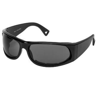 BikeMaster Black w/Smoke Lens Track Sunglasses