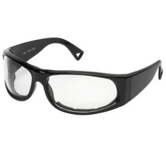 BikeMaster Black w/Clear Lens Track Sunglasses