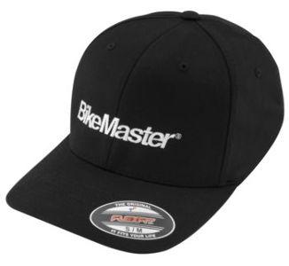 BikeMaster L/XL Men's Ball Cap, Black