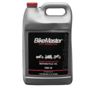 BikeMaster 20W50 Full-Synthetic Oil, 55 gal
