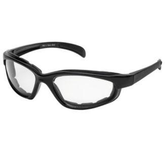 BikeMaster Black w/Clear Lens Chromester Sunglasses