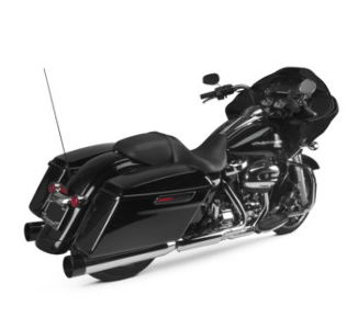 Two Brothers Racing Dual Slip-Ons Chrome w/ Aluminum Endcap