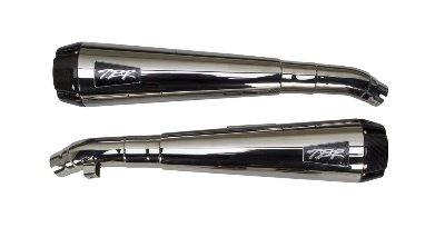 Two Brothers Racing Comp-S Dual Slip-On Polished Stainless