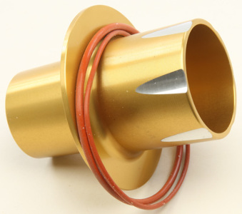 Two Brothers Racing P1-X PowerTip Sound Suppressor, Gold